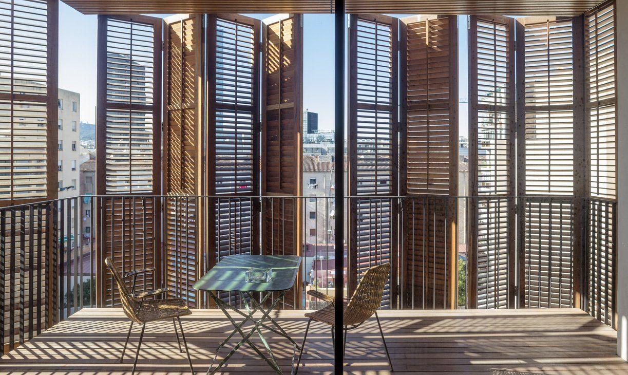 terraza protección solar Barcelona